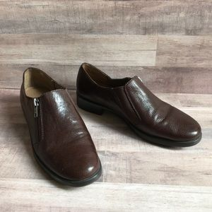 Aerosoles Brown Leather Loafers